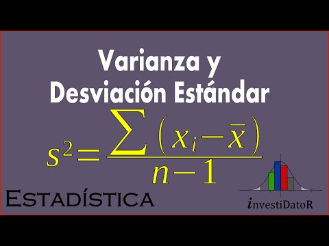Embedded thumbnail for Varianza y Desviacion Estandar o Tipica