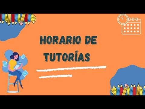 Embedded thumbnail for ¿Cómo encontrar el horario de tutorías?